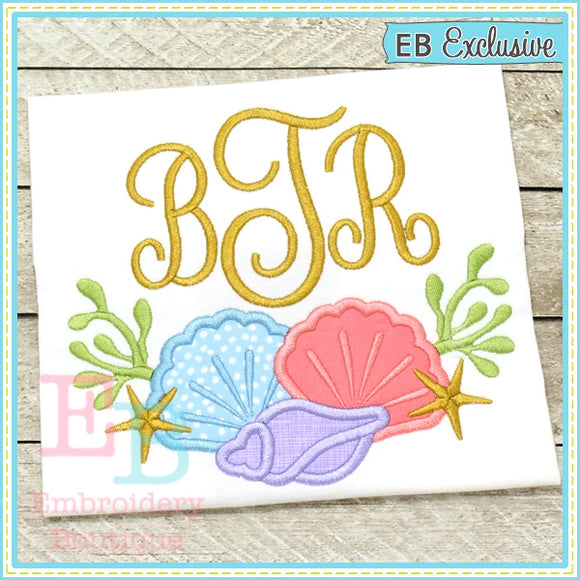 Sea Shell Swag Applique