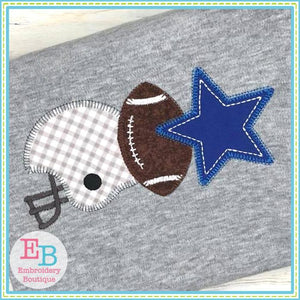 Star Helmet Applique