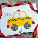 Taxi Zig Zag Stitch Applique Design