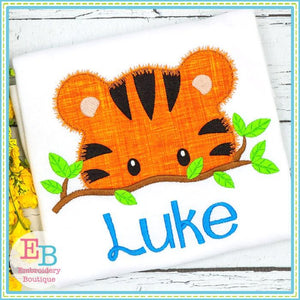 Tiger Peeker Applique