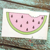 Watermelon Sketch Stitch Embroidery Design, Embroidery