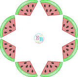 Watermelon Circle Design