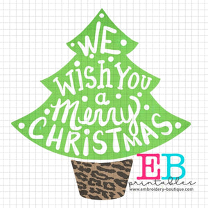 We Wish You Printable Design PNG, Printable