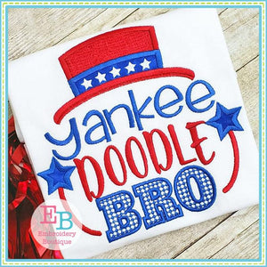 Yankee Doodle Bro Applique - embroidery-boutique