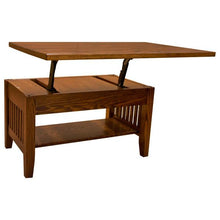 Prairie Mission Lift Coffee Table with Drawer