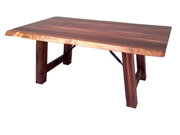 Settlers Trestle Live Edge Table