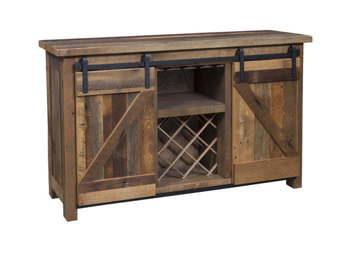 Barn Door Wine Buffet