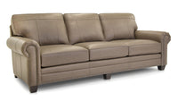 253 Leather Sofa