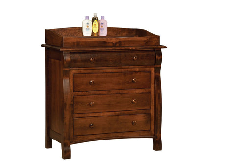 Castlebury 4-Drawer Dresser w/Box Top