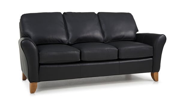 344 Leather Sofa