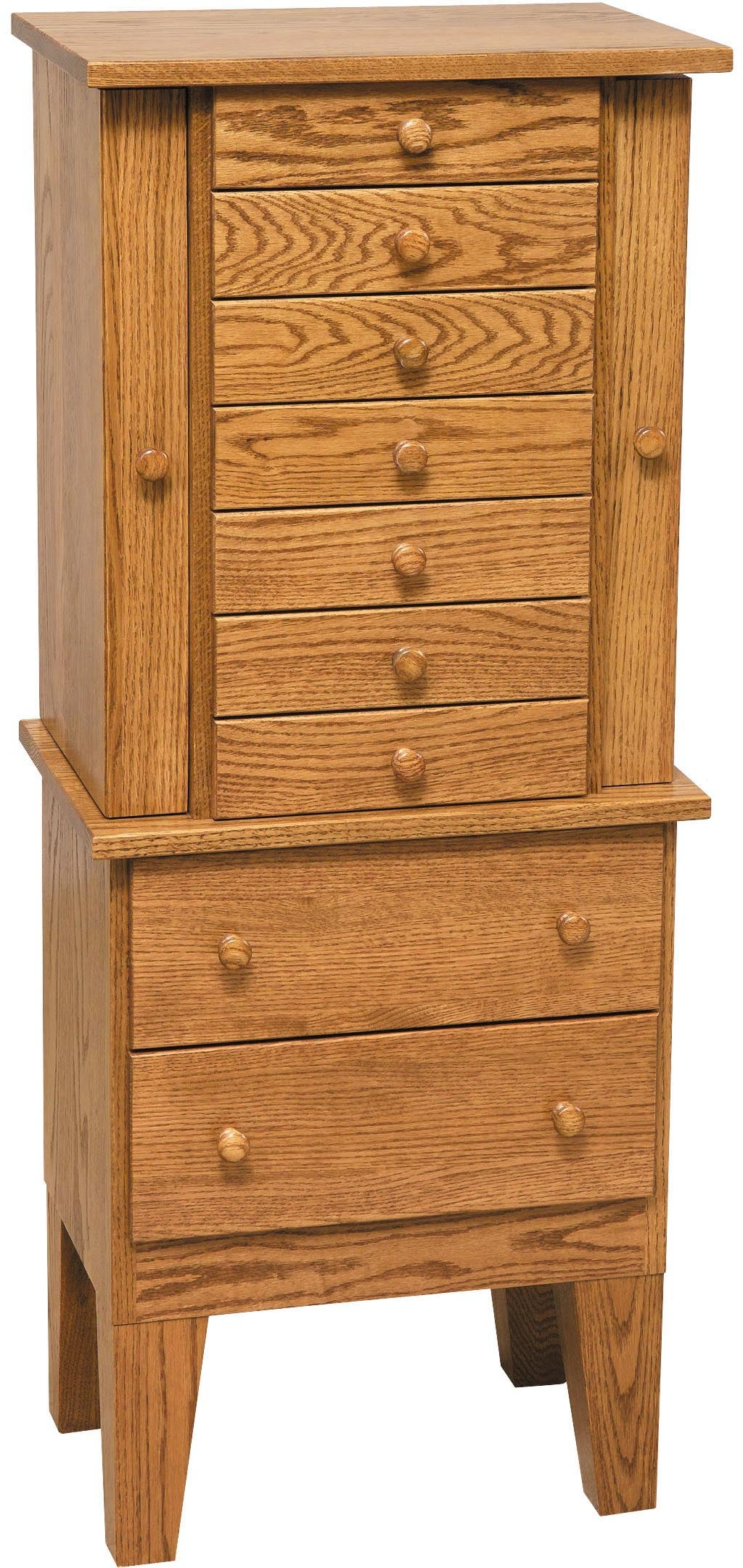 Shaker Jewelry Armoire