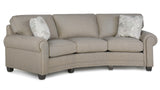 393 Fabric Conversation Sofa
