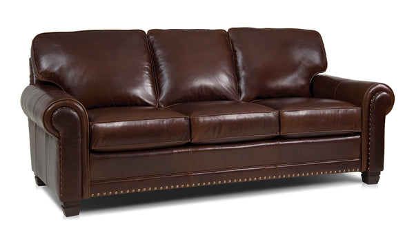 393 Leather Sofa