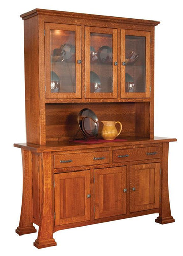 Christy 3-Door Hutch