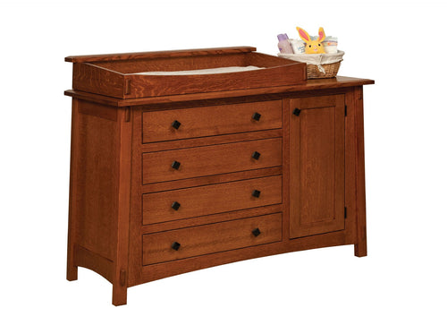 McCoy Dresser w/Box Top