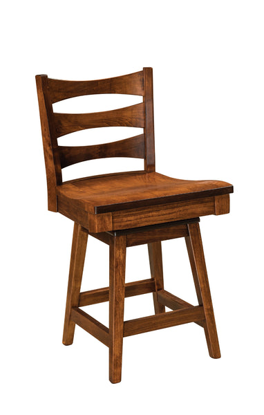 "Armanda 24"" Swivel Bar Stool"