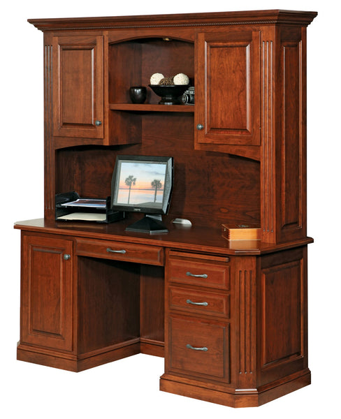 Buckingham Credenza with Hutch