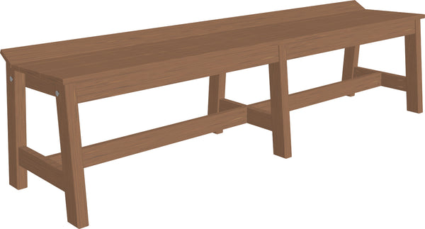 "72"" Cafe Bench"