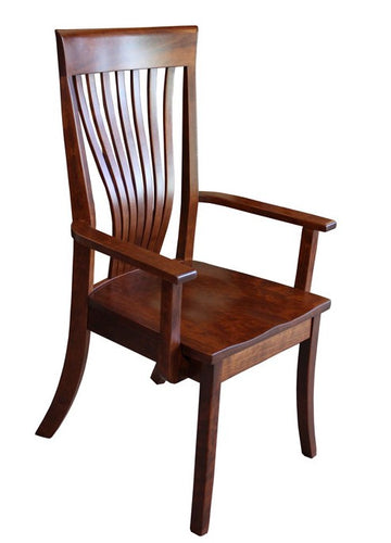 Christy Fan-Tail Arm Chair