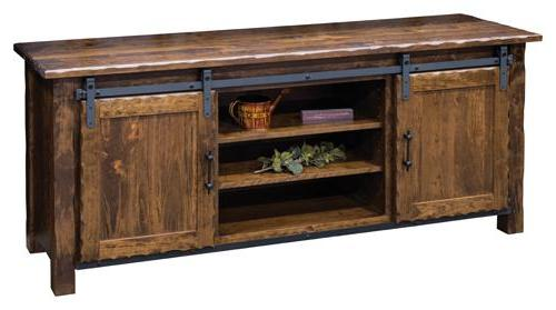 Hand Hewn TV Stand