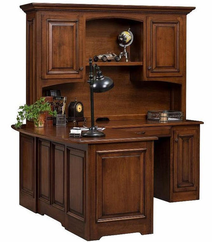 Liberty Corner Desk with Hutch