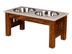 Pet Feeder- Large Double Dinner Bowl