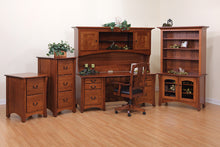 Master Desk with Hutch