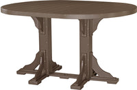 4' X 6' Oval Table