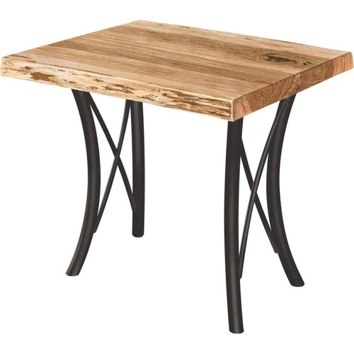 Premier Live Edge End Table