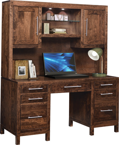 Vienna Desk with Hutch