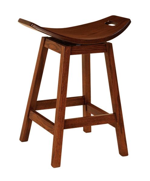 "Wilford 24"" Swivel Bar Stool"