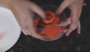 How to Dye Sola Wood Flowers