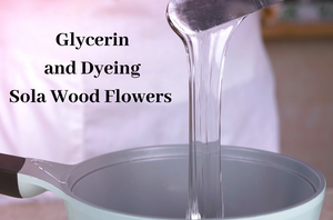 Glycerin and Dyeing