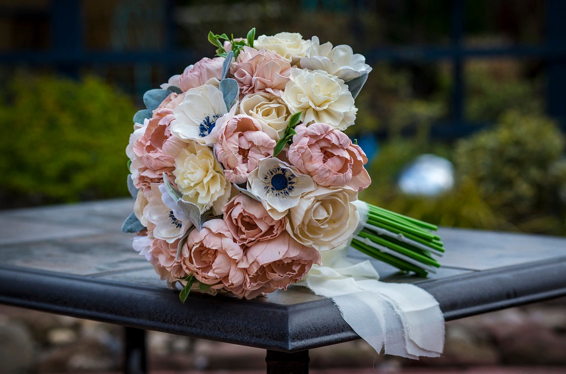 Luv Sola Flowers - Wood Flower Bouquet