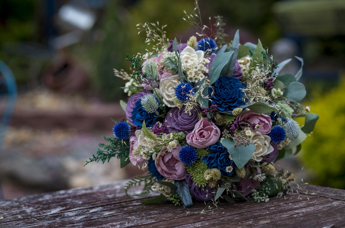 Luv Sola Flowers - Wooden Flower Bouquet