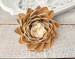 Sola Wood Flowers - Sahara - Luv Sola Flowers