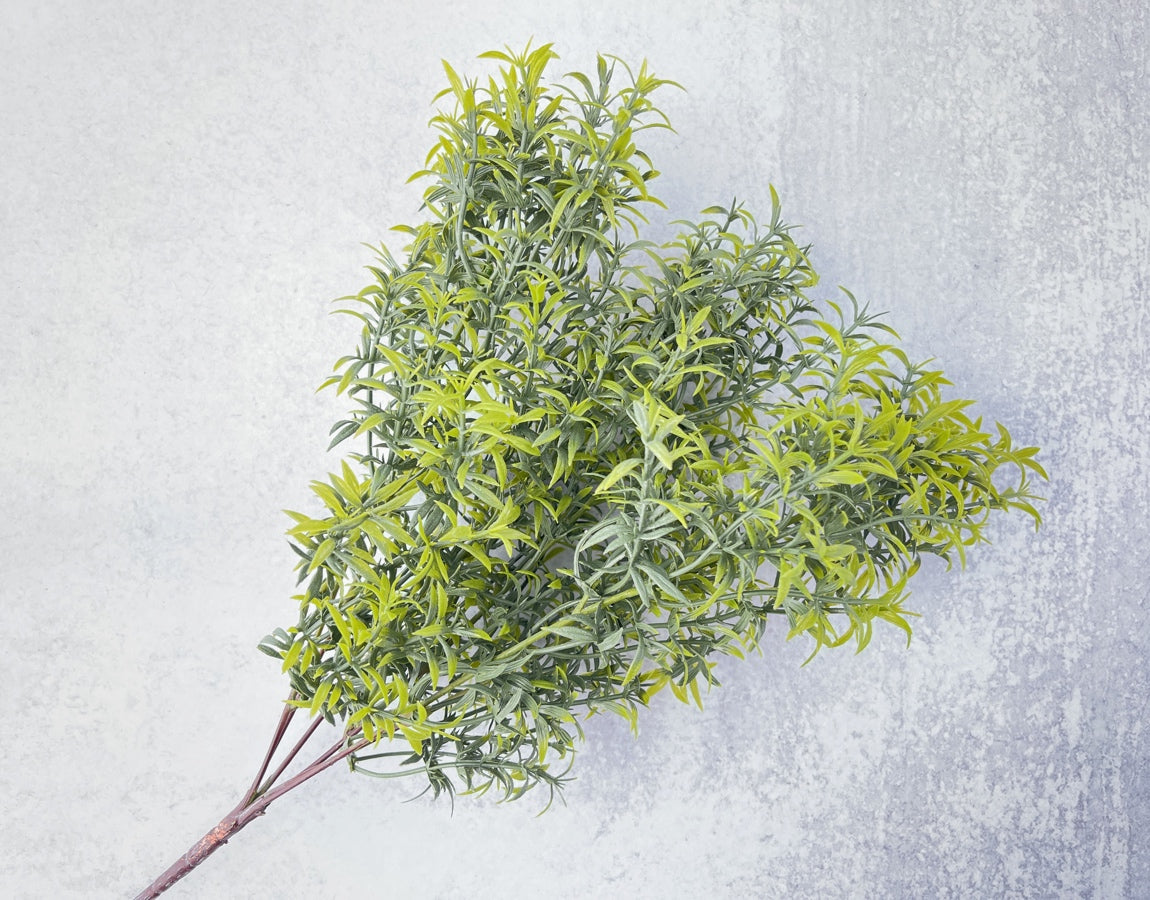 Two Toned Rosemary Bush Faux - Luv Sola Flowers - Faux Filler