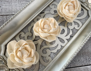 Sola Wood Flowers - Vanilla Sky - Luv Sola Flowers
