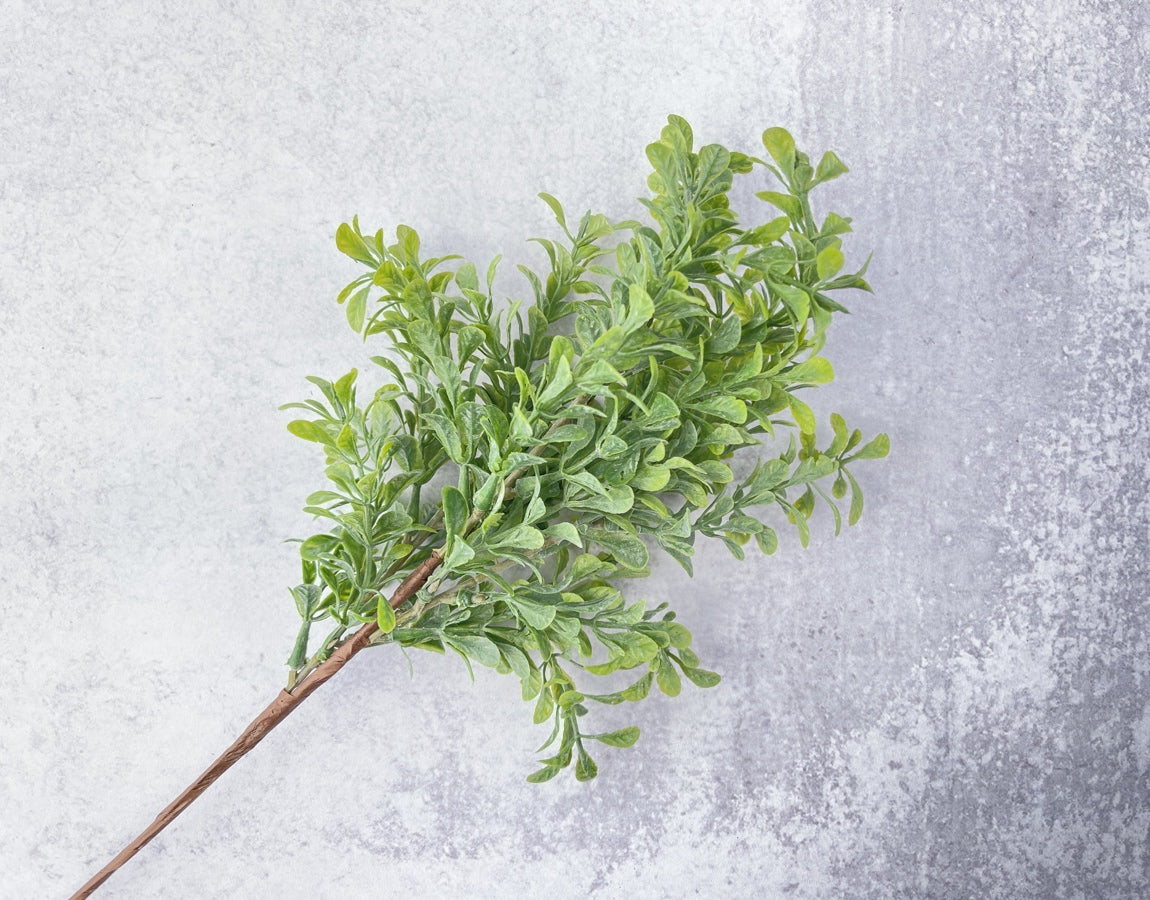 Veined Boxwood Bush Faux - Luv Sola Flowers - Faux Filler