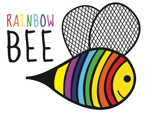 Rainbow Bee Gift Card