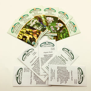 Seed Packets from Strictly Medicinal Seeds