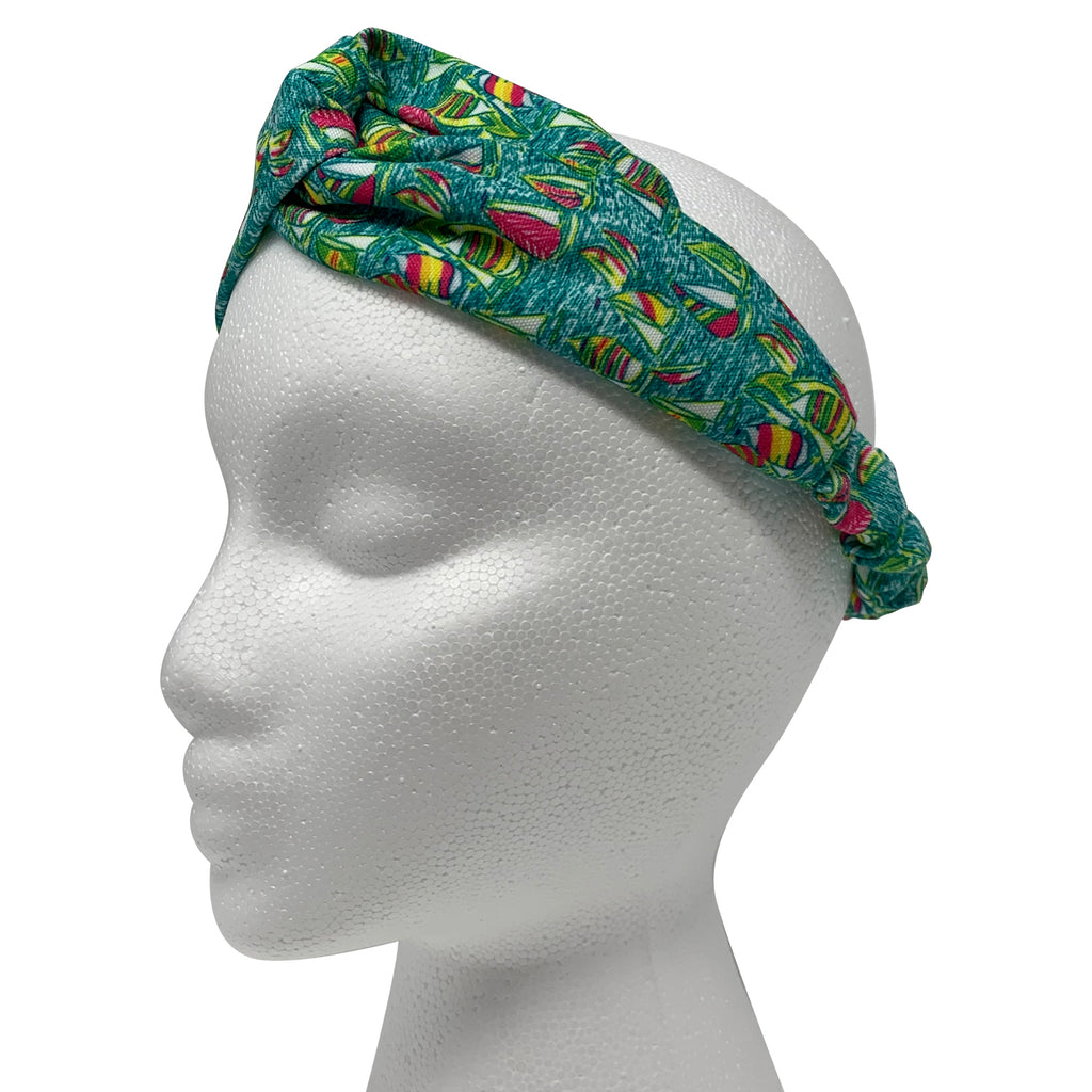 Sailboat Bandana / Headband / Scrunchie