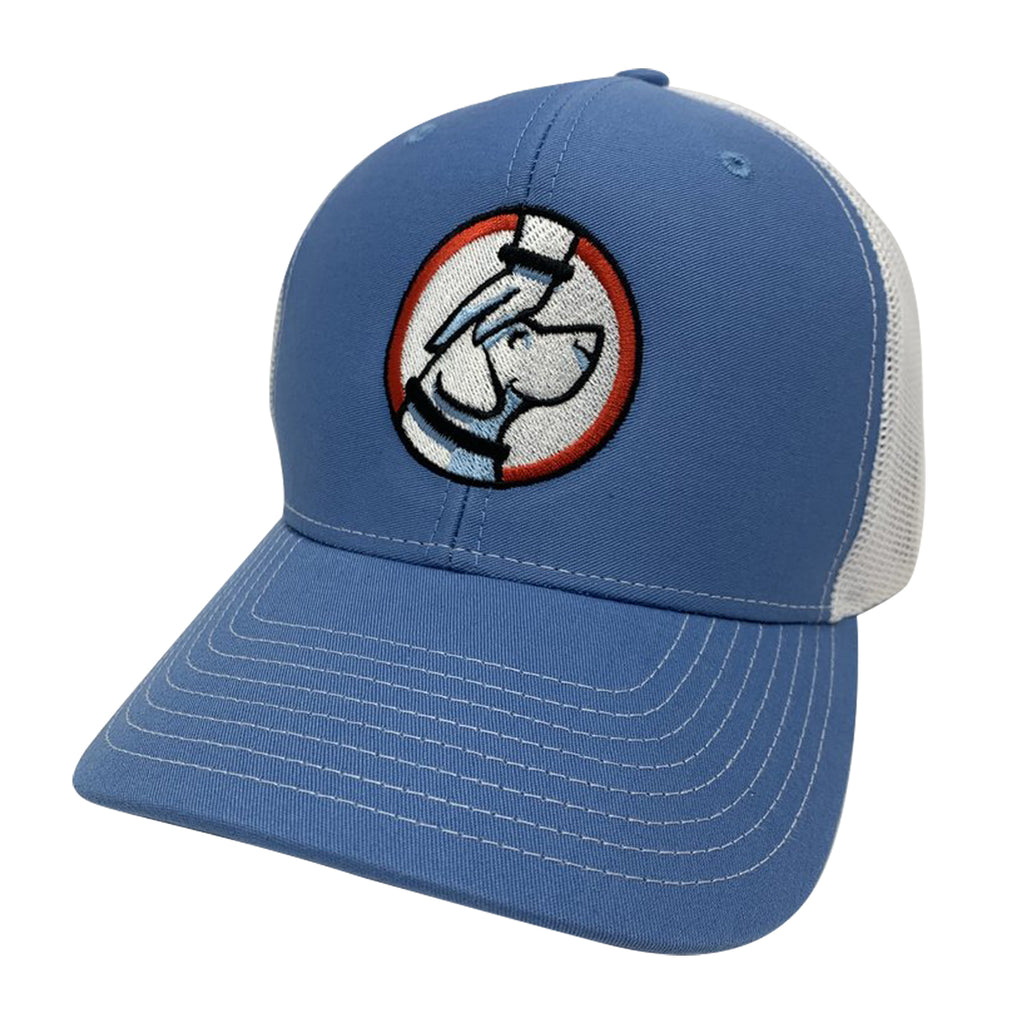 Buddy Trucker Hat Carolina Blue