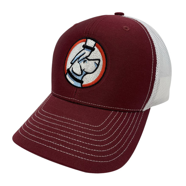 Buddy Trucker Hat Crimson