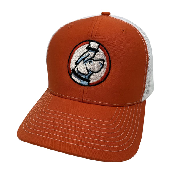 Buddy Trucker Hat Orange