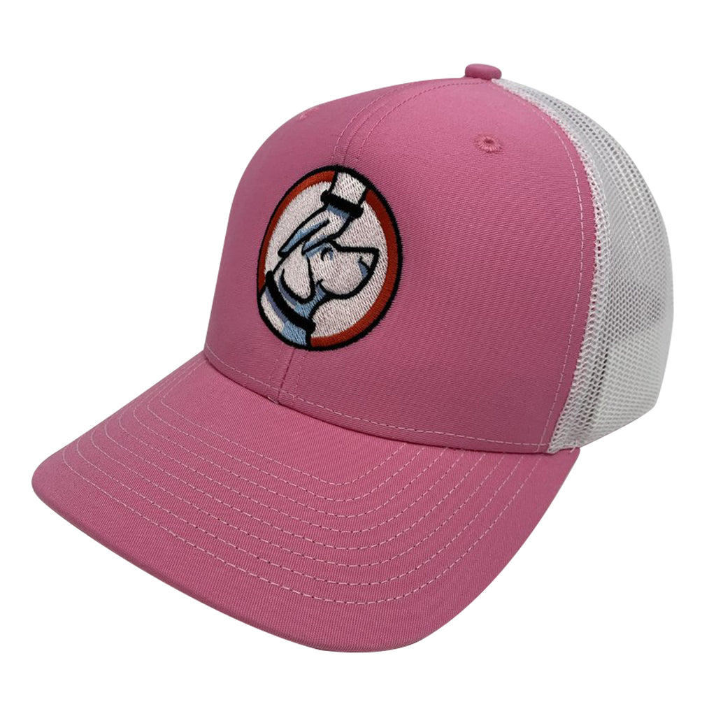 Buddy Trucker Hat Pink