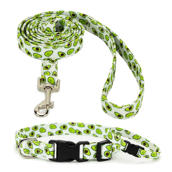 Avocado Collar, Bracelet & Leash Combo