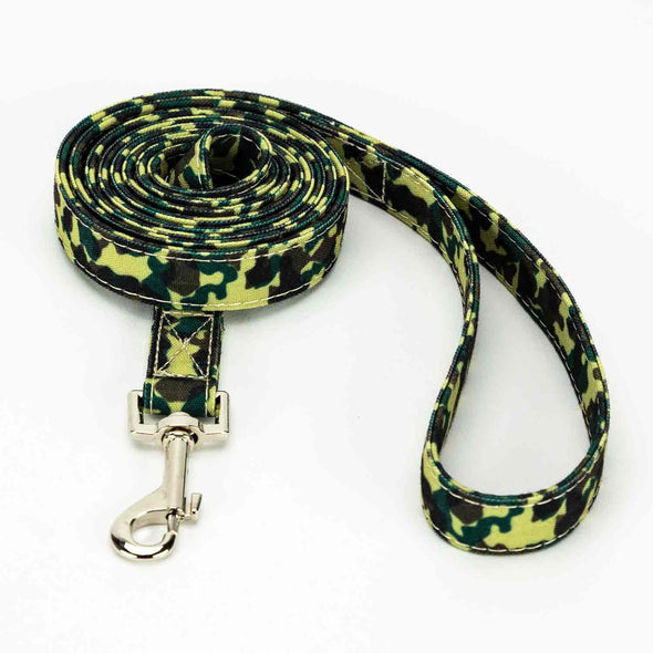 Camouflage Collar, Bracelet & Leash Combo
