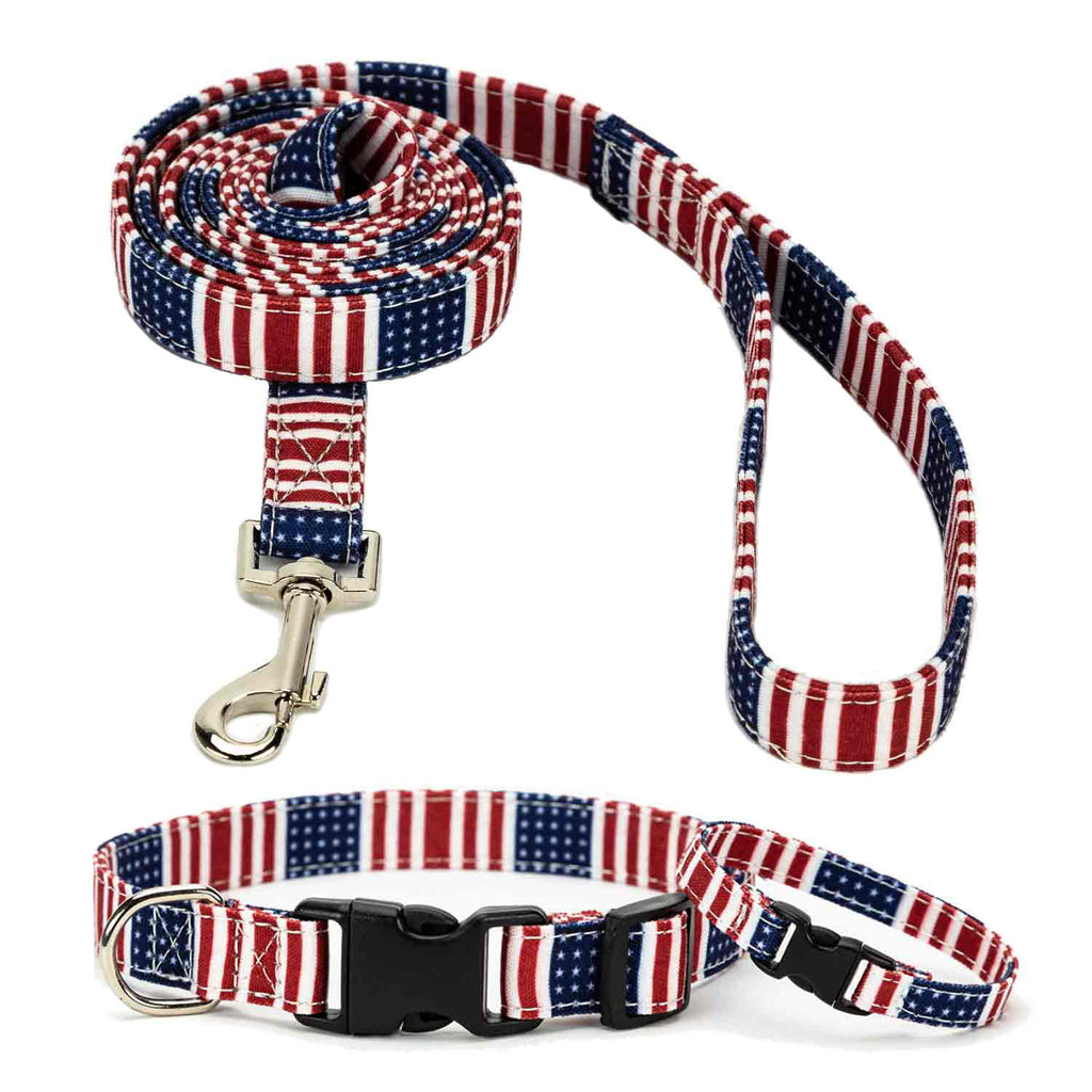 Patriot Collar, Bracelet & Leash Combo