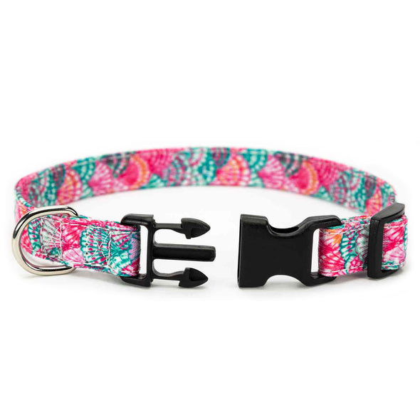 Pink Shell Dog Collar
